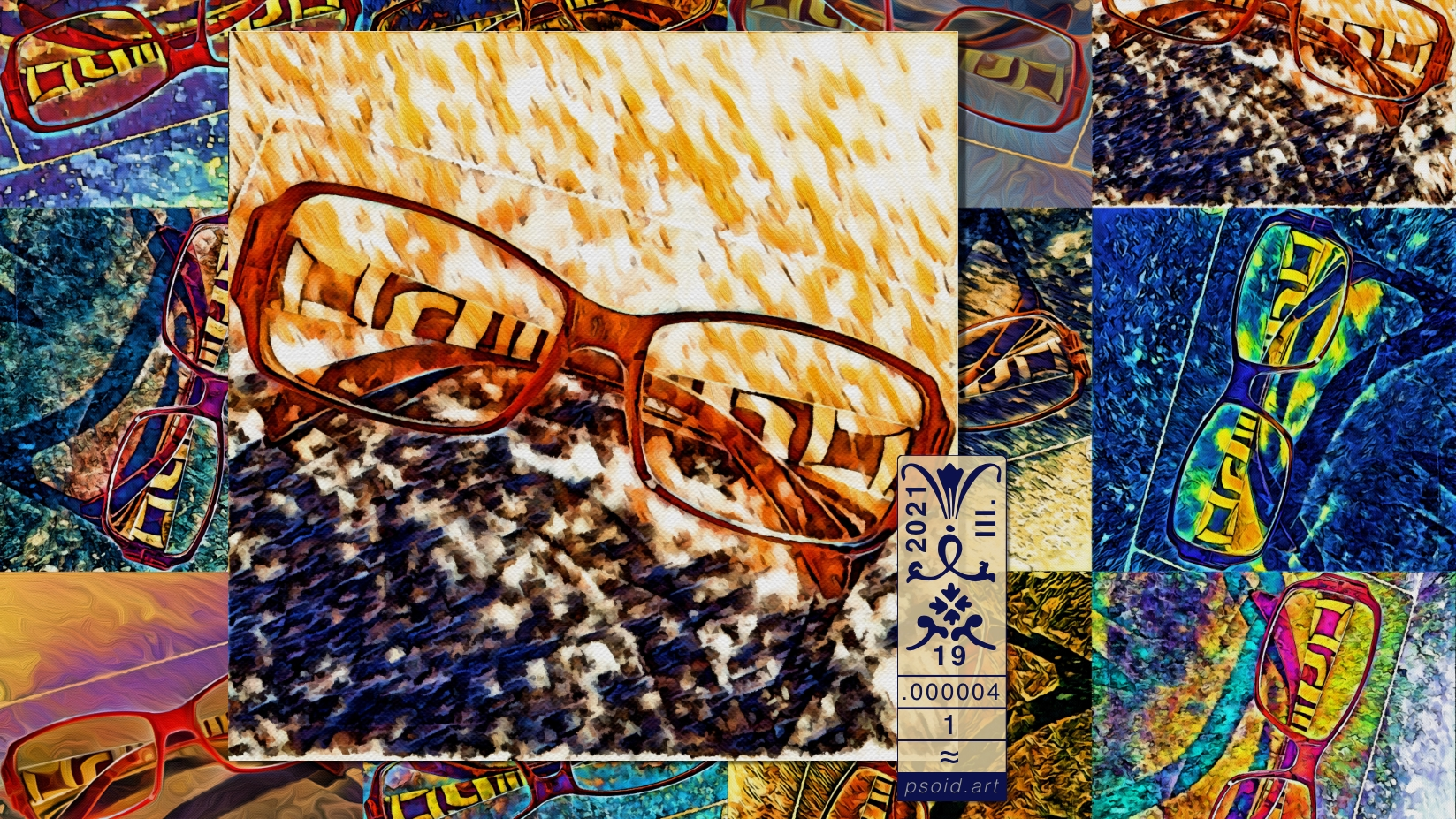 Mosaic: Spectacles - A RA-PS01D on psoid.art by Enmempin N. Midelobo